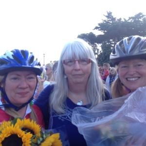 Wendy & Sam with our Director Liz Slade